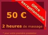 Massage de 2 heures à Coulommiers